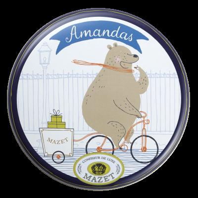 Amandas - Boite ours, Amandas 65g