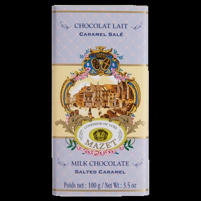 Tablette lait Caramel Salé 100g