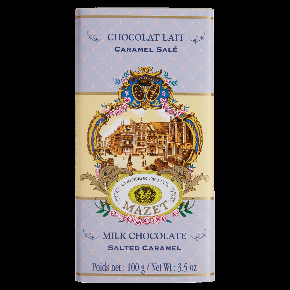 Tablettes de Chocolat - Tablette lait Caramel Salé 100g