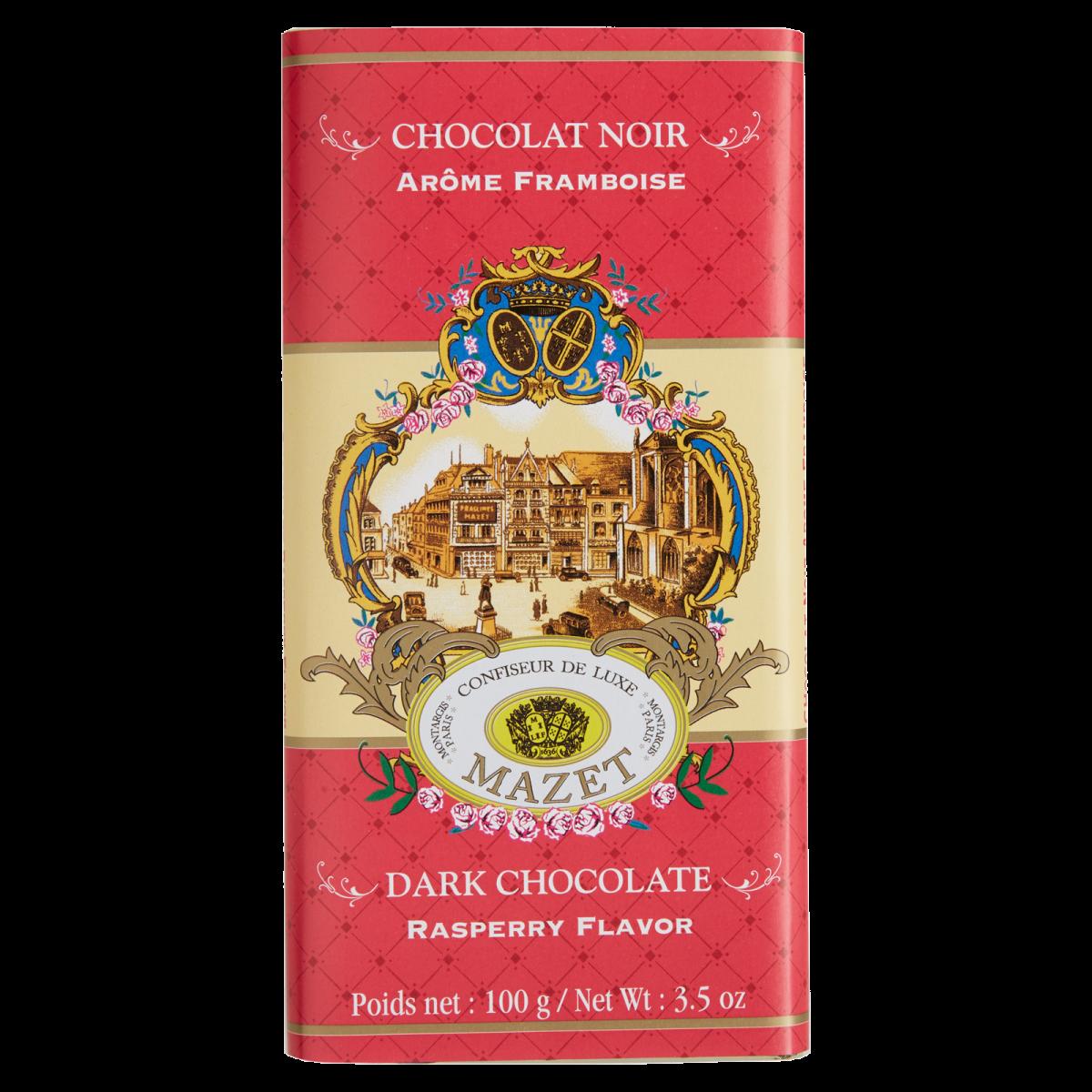 Tablettes de Chocolat - Tablette noir aromatisé à la F...