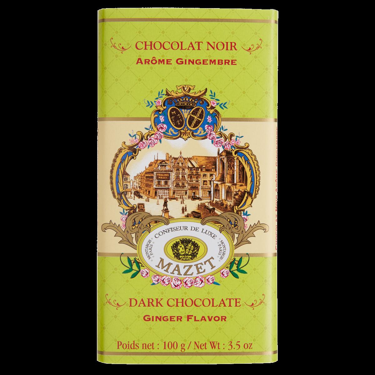 Tablettes de Chocolat - Tablette noir aromatisé au ...
