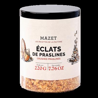 Ingrédients - Eclats de Praslines (pralines) 220g