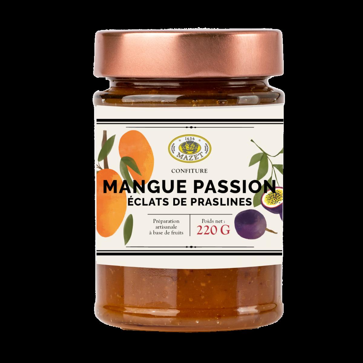 Confitures - Confiture mangue passion Praslines (pralines)...