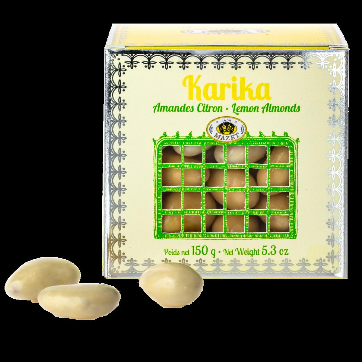 Karikas - Karika Amandes Citron 150g